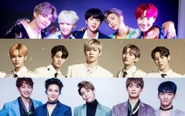 Khi BTS và Wanna One mải tranh nhau top 1, EXO liệu có dần thụt lùi giữa loạt nhóm nhạc nam hot nhất xứ Hàn?