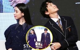 """Sau tin đồn hẹn hò, """"thánh sống"""" Kang Dong Won và Han Hyo Joo có biểu hiện gây sốt trong lần đầu lộ diện"""