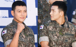 """Để mặt mộc dự sự kiện quân đội, Ji Chang Wook gây xôn xao vì đẹp trai đến mức biến nam idol Kpop thành """"bạch tuộc"""""""