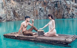 Bất chấp dư luận chỉ trích kịch liệt, Á hậu Thư Dung vẫn thản nhiên đăng tiếp loạt ảnh khoe thân phản cảm ở Tuyệt Tình Cốc Đà Lạt
