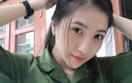 Đăng ảnh học quân sự đẹp xuất thần, nữ sinh Y Dược Cần Thơ được hâm mộ trên mạng
