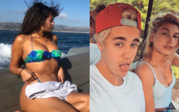 Selena Gomez vừa tung ảnh sexy, Hailey Baldwin lại lo lắng muốn cưới Justin Bieber ngay?