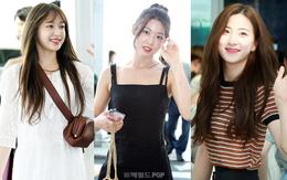 Dàn mỹ nhân Kpop đổ bộ sân bay: Hani đẹp như thiên thần, nhưng Seolhyun còn xuất sắc hơn nhờ body nuột