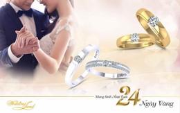 Nhẫn cưới DOJI giảm 15% và ra mắt BST nhẫn cưới 2.4 triệu đồng