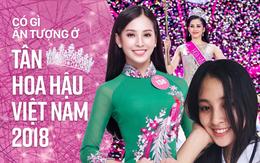 Những điều ấn tượng ở Tân Hoa hậu Việt Nam 2018 Trần Tiểu Vy