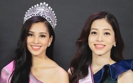 Clip: Bị chê bảng điểm kém, Hoa hậu Trần Tiểu Vy thể hiện khả năng nói tiếng Anh cùng Á hậu Phương Nga