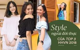 Style ngoài đời của Top 3 Hoa hậu: Nàng nào cũng diện đồ giản dị hết sức mà vẫn khiến người đối diện phải ngẩn ngơ