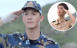 Tạo hình nam tính nhưng Song Luân vẫn còn kém Song Joong Ki về khoản này ở loạt ảnh đầu tiên của Hậu Duệ Mặt Trời bản Việt