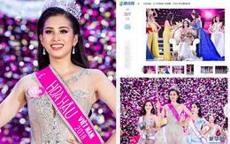 Báo Trung Quốc nức nở khen ngợi Trần Tiểu Vy, cư dân mạng nhận định lọt Top 5 Miss World