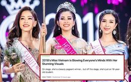 Báo Hàn và loạt diễn đàn nhan sắc nổi tiếng khen ngợi vẻ đẹp của Tân Hoa hậu Trần Tiểu Vy