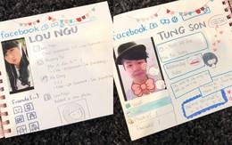 Quyển sổ đáng yêu mà Trang Lou tặng Tùng Sơn năm 17 tuổi sẽ khiến bạn tin vào tình yêu thời thanh xuân