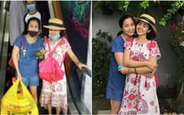 Sức khoẻ khá hơn sau khi xuất viện, Mai Phương vui vẻ đi siêu thị và tới chơi nhà Ốc Thanh Vân