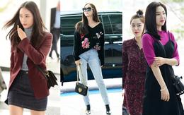 Chị em sang chảnh nhất xứ Hàn đụng độ Red Velvet: Jessica trông như bà hoàng, Krystal đẹp đè bẹp đàn em