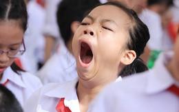 Học sinh THPT đang thiếu ngủ trầm trọng