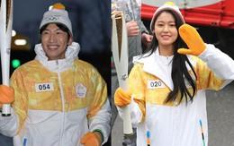 Lee Kwang Soo, Seolhyun rạng rỡ rước đuốc Olympics mùa đông