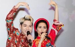 """Đức Phúc can ngăn khi Hòa Minzy tuyên bố: """"Sẽ gác mọi hoạt động nghệ thuật 1 năm nếu 2018 không có bài hit"""""""