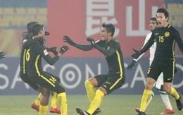 Malaysia gây địa chấn, quật ngã Ả-rập Xê-út để vào tứ kết VCK U23 châu Á