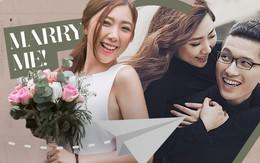 """Chuyện tình nàng """"khó"""" chàng """"lì"""" cực dễ thương của em gái Trấn Thành và bạn trai Hongkong"""