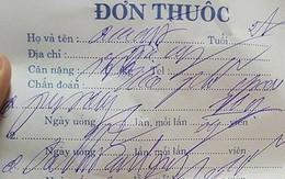 Khám bệnh từ nhỏ, đến giờ tôi mới hiểu tại sao chữ bác sĩ lại 'xấu' như trong truyền thuyết đến vậy?