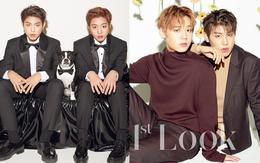 Hậu lùm xùm bạo lực nội bộ, hai mỹ nam Wanna One tung hình tạp chí đôi thân thiết khiến chị em mất máu