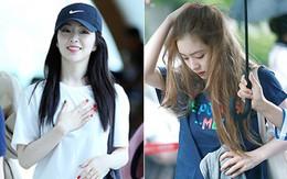 Đẳng cấp là thế, nhưng Irene cũng chỉ diện đi diện lại 1 mẫu túi vải mà ai cũng có