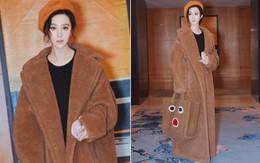 Đẳng cấp của Phạm Băng Băng: diện áo to sụ dài chấm gót, xách túi lông hoạt hình mà vẫn sang chảnh ngút trời