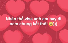 Du học sinh Trung Quốc lũ lượt lập team, hi vọng trở lại Trung Quốc để xem trận chung kết của đội tuyển U23 Việt Nam