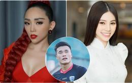 """Tóc Tiên đòi hôn, Jolie Nguyễn """"chơi lớn"""" tỏ tình với thủ môn Tiến Dũng sau trận bán kết lịch sử!"""