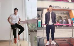 """Điển trai lại còn """"chung thủy"""", Vũ Văn Thanh tuyển U23 đi đâu cũng chỉ diện 3 đôi giày này"""