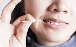 Đây là những lý do khiến bạn phải ngừng ngay thói quen sử dụng tăm để xỉa răng