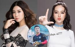 """Đỗ Mỹ Linh hay Angela Phương Trinh hợp với Bùi Tiến Dũng trở thành cặp đôi """"Beck - Vic"""" của showbiz Việt?"""