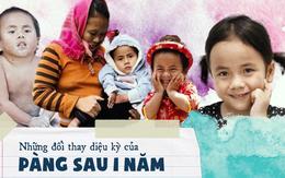 Hành trình thay đổi của em bé Mường Lát sau 1 năm về thành phố: Pàng được đi học chữ, hạnh phúc đón sinh nhật đầu tiên bên ba mẹ nuôi