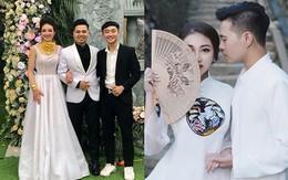 """Bộ ảnh cưới đẹp như mơ cùng gia thế khủng của cô dâu """"vàng đeo trĩu cổ"""" sống trong lâu đài 7 tầng ở Nam Định"""