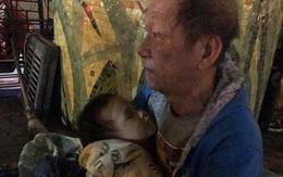 Sự thật bất ngờ vụ ông ngoại ôm cháu trai 3 tuổi đi lang thang dưới gầm cầu Chương Dương