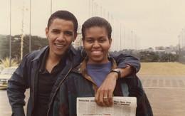 Ngọt ngào như cựu tổng thống: Ông Obama đăng ảnh thời còn hẹn hò để chúc mừng sinh nhật vợ 55 tuổi