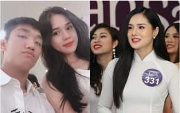 Bạn gái Trọng Đại U23 được chú ý khi bất ngờ xuất hiện ở vòng sơ khảo Hoa hậu Bản sắc Việt toàn cầu 2019