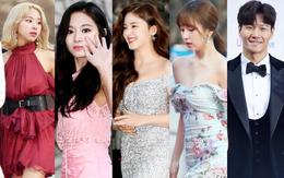"""Hơn 80 sao Hàn đổ bộ thảm đỏ Gaon 2019: Tzuyu xuất sắc, nữ thần lai và mỹ nhân TWICE gây chú ý vì vòng 1 """"đốt mắt"""""""
