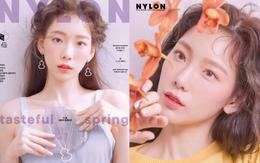 """Ở tuổi 30, Taeyeon """"dọa"""" soán ngôi nữ thần nhan sắc SNSD của Yoona nhờ bộ hình tạp chí mới đẹp như tiên tử"""