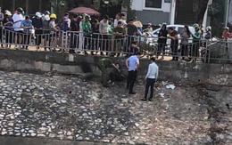 Hà Nội: Nghi buồn chuyện tình cảm, cô gái 2 lần nhảy xuống sông Tô Lịch tự tử nhưng may mắn sống sót