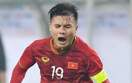 """Bị cầu thủ Thái Lan """"đánh"""" tơi tả, Quang Hải vẫn thể hiện bản lĩnh với pha solo đẳng cấp"""