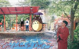 """Quay về tuổi thơ với loạt ảnh check-in đúng chuẩn """"thế giới truyện tranh"""" của Jun Phạm tại Nhật Bản"""