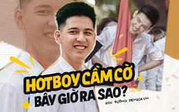 """""""Hotboy cầm cờ"""" Hồng Đăng - soái ca năm nào của trường Phan Đình Phùng bây giờ ra sao?"""