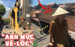 """Kang Gary đăng vlog nghỉ dưỡng ở Hội An cùng gia đình, nhưng fan lại """"cười ngất"""" khi phát hiện ra nguồn gốc của chiếc nón lá rách anh đội suốt chuyến đi"""