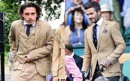 Chuyện nhà Beckham: độ bố không độ con là có thật!