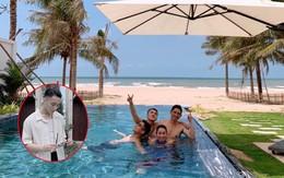 """Sau thành công """"Hãy trao cho anh"""", Sơn Tùng M-TP đưa cả gia đình đi nghỉ mát cực sang chảnh, mặc đi bơi vẫn nhất quyết không khoe body!"""