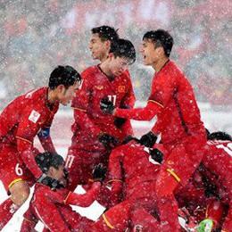 Truyền hình Nhật Bản dùng U23 Việt Nam truyền cảm hứng cho Thế vận hội 2020