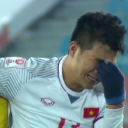 U23 Việt Nam và những khoảnh khắc lấy nước mắt của người hâm mộ