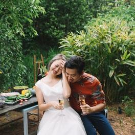 """Gặp gỡ cặp đôi """"trai xinh gái sexy"""": Đi đến đâu là chụp ảnh cưới đến đấy!"""