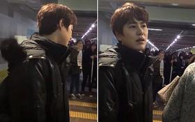 Kyuhyun thất vọng, mắng fan vì tội không nghe lời, xô nhau ngã