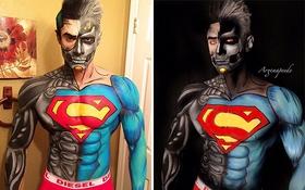 Nghệ sĩ trang điểm hóa thân thành siêu anh hùng nhờ tài năng đỉnh cao